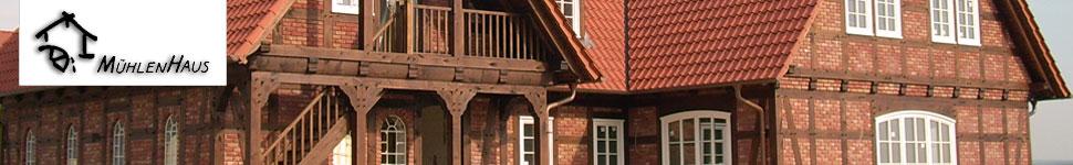 Mühlenhaus Fachwerkhaus – Häuser aus Holz